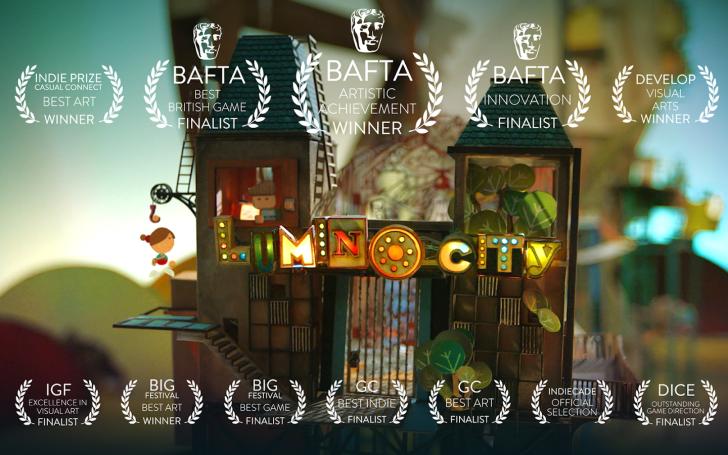 ภาพตัวอย่างแอพ Lumino City