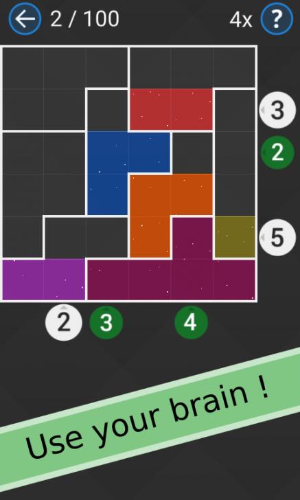 ภาพตัวอย่างแอพ Watery Blocks