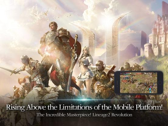 ภาพตัวอย่างแอพ Lineage2 Revolution