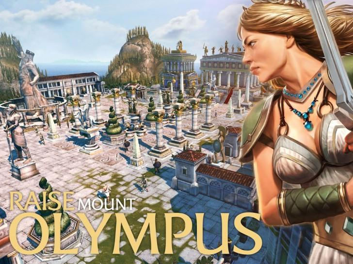 ภาพตัวอย่างแอพ Olympus Rising