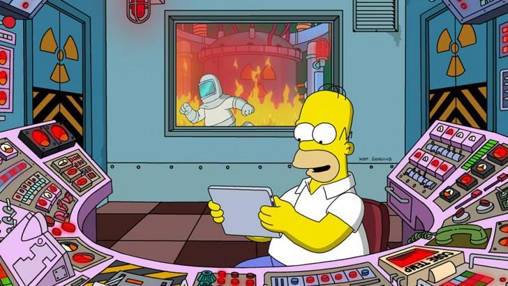 ภาพตัวอย่างแอพ The Simpsons™:  Tapped Out