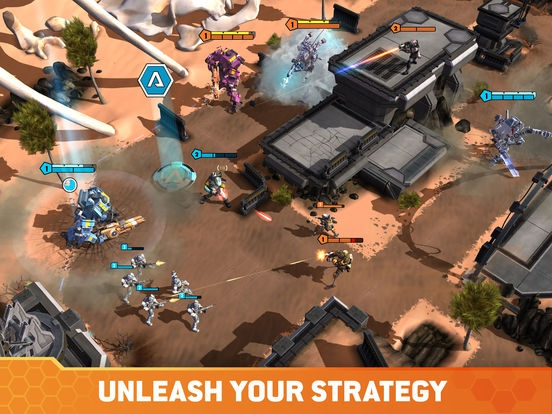 ภาพตัวอย่างแอพ Titanfall: Assault
