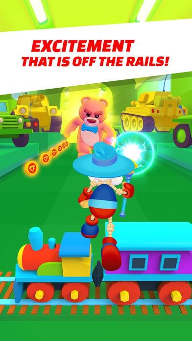 ภาพตัวอย่างแอพ Buddyman Run - keep running!