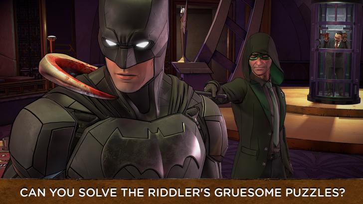 ภาพตัวอย่างแอพ Batman: The Enemy Within