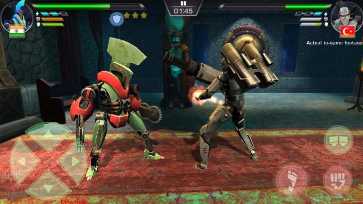 ภาพตัวอย่างแอพ Clash Of Robots