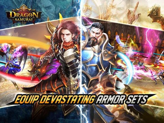 ภาพตัวอย่างแอพ Dragon Samurai