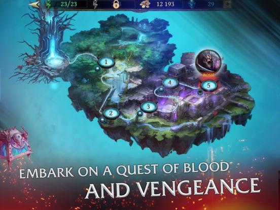 ภาพตัวอย่างแอพ Bladebound