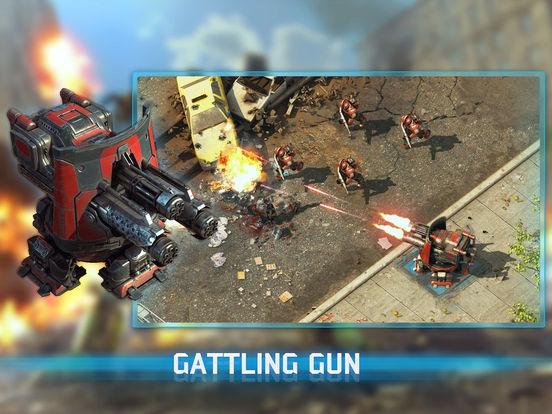 ภาพตัวอย่างแอพ Epic War TD 2