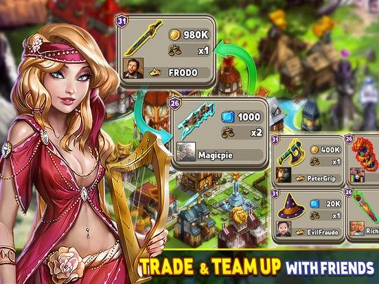 ภาพตัวอย่างแอพ Shop Heroes