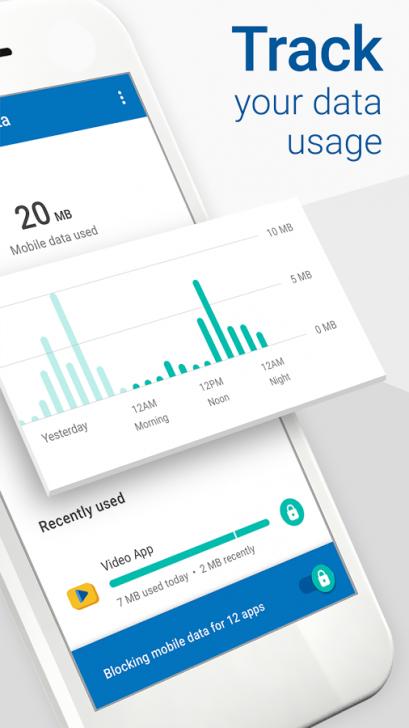 ภาพตัวอย่างแอพ Datally: mobile data-saving & WiFi app by Google