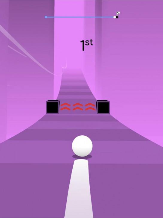 ภาพตัวอย่างแอพ Balls Race