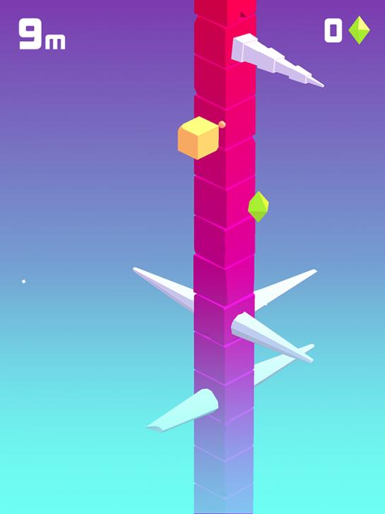 ภาพตัวอย่างแอพ Spiky Trees