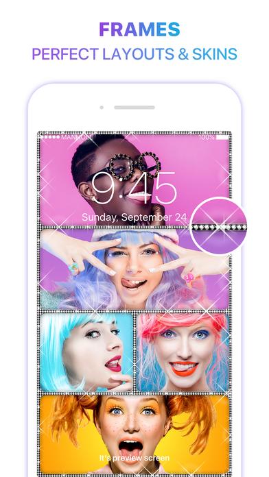 ภาพตัวอย่างแอพ Magic Screen Customize Your Lock & Home Wallpaper