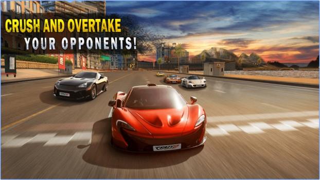 ภาพตัวอย่างแอพ Crazy for Speed
