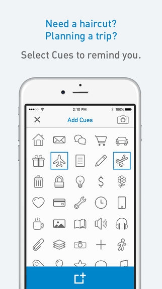 ภาพตัวอย่างแอพ Cuecard - Visual To-Do List, Tasks & Reminders