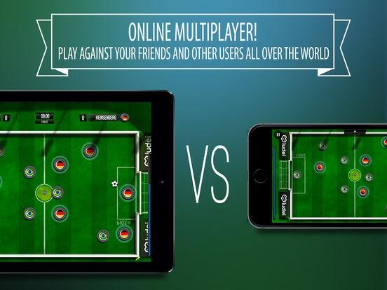 ภาพตัวอย่างแอพ Slide Soccer – football online