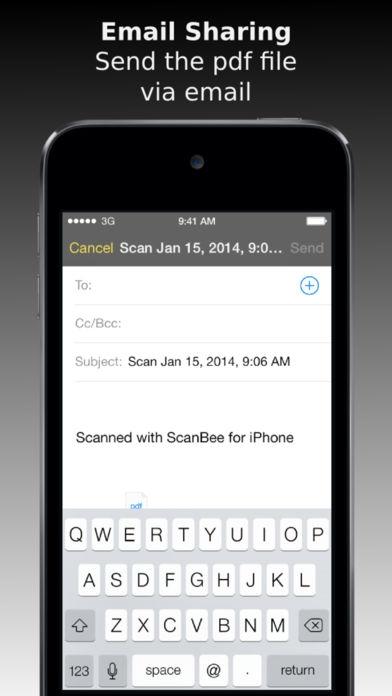 ภาพตัวอย่างแอพ ScanBee - Scanner & copier