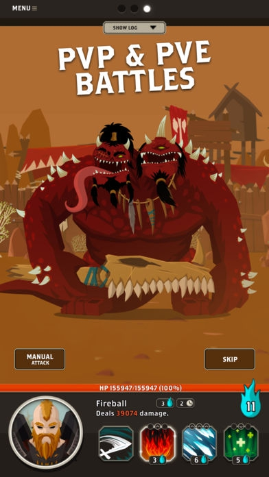 ภาพตัวอย่างแอพ Questland: Turn Based RPG - เกมส์เควสแลนด์ แนวสลับกันโจมตี สุดมันส์