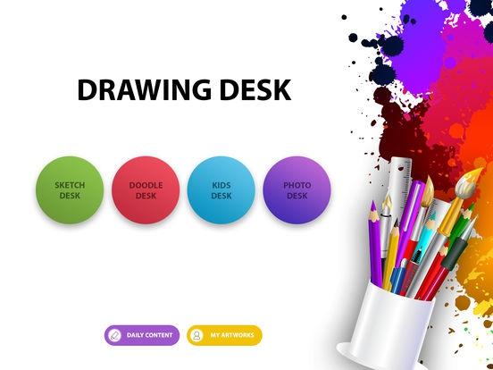 ภาพตัวอย่างแอพ Drawing Desk: Draw & Paint Art