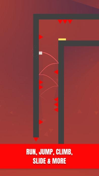ภาพตัวอย่างแอพ Almost There: The Platformer - เกมส์กระโดดข้ามสิ่งกีดขวางด้วยปลายนิ้ว