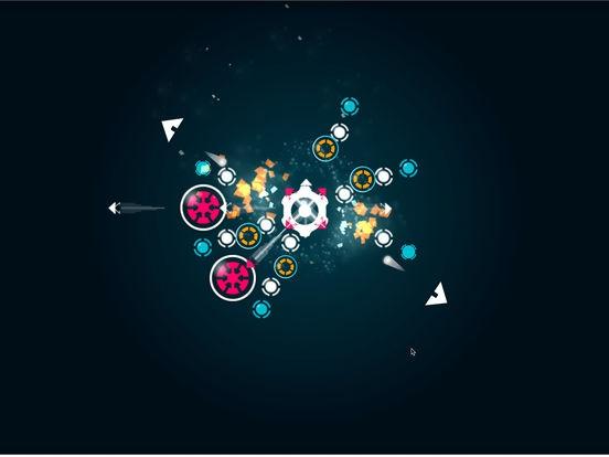 ภาพตัวอย่างแอพ Roto Strike - เกมส์ชู๊ตเตอร์ในวงกลม