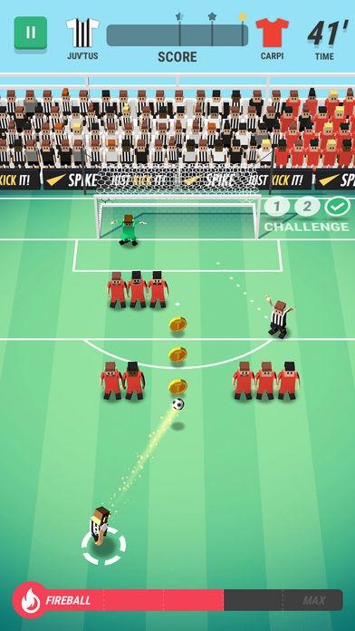 ภาพตัวอย่างแอพ Tiny Striker: World Football