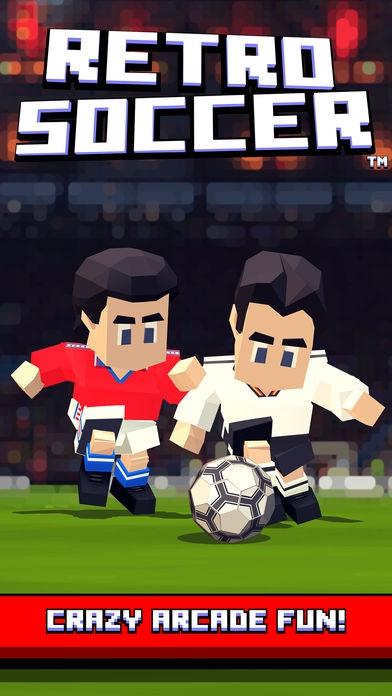 ภาพตัวอย่างแอพ Retro Soccer - Arcade Football