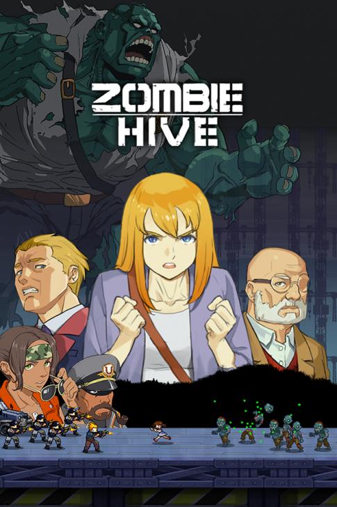 ภาพตัวอย่างแอพ Zombie Hive