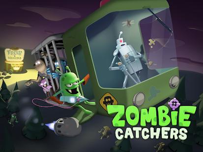 ภาพตัวอย่างแอพ Zombie Catchers