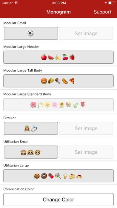 ภาพตัวอย่างแอพ Monogram Plus