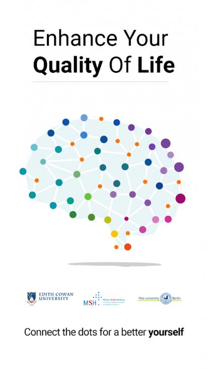 ภาพตัวอย่างแอพ NeuroNation