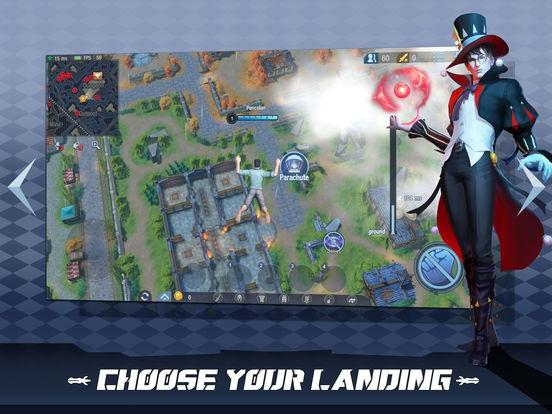 ภาพตัวอย่างแอพ Survival Heroes (เกมส์ Moba แบบ Battle Royale)