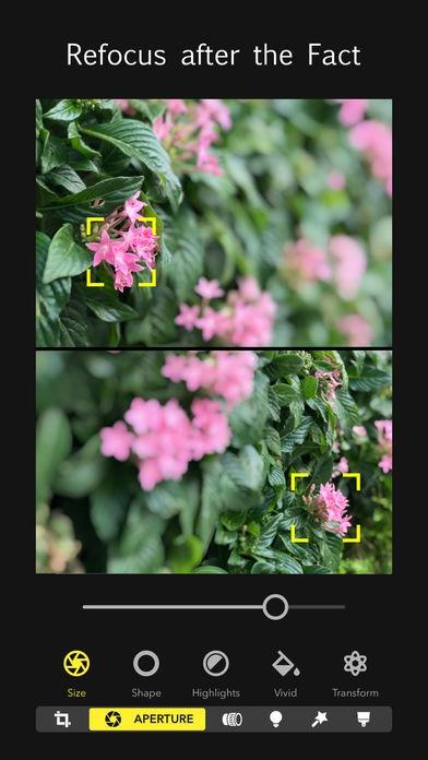 ภาพตัวอย่างแอพ Focos (แอพกล้องถ่ายรูป หน้าชัดหลังเบลอ)