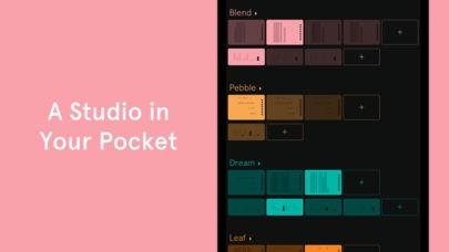 ภาพตัวอย่างแอป Auxy Studio