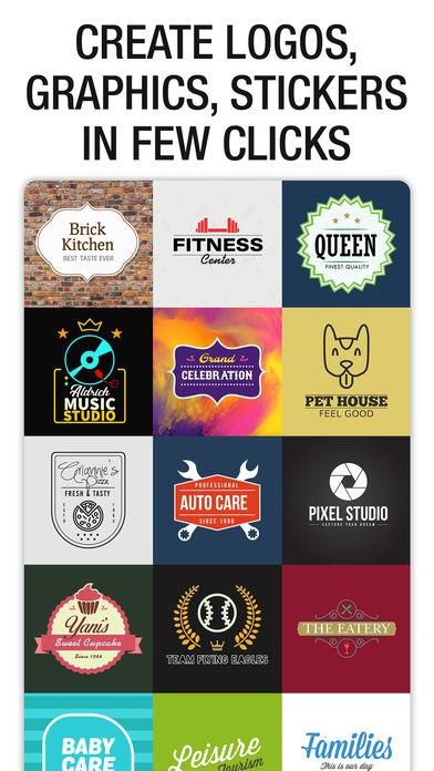 ภาพตัวอย่างแอป Logo Maker - Create a Design
