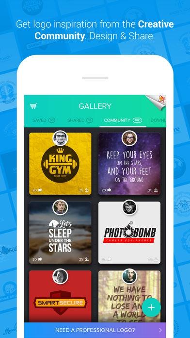 ภาพตัวอย่างแอพ Logo Maker - Logo Foundry