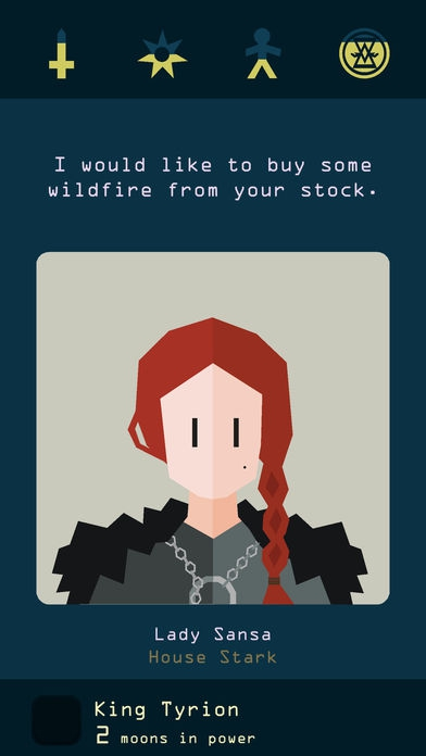 ภาพตัวอย่างแอป Reigns: Game of Thrones