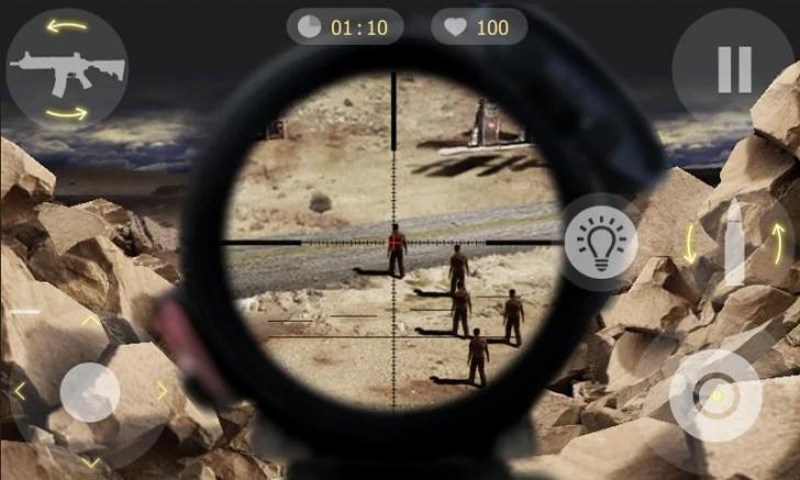 ภาพตัวอย่างแอป Sniper Time 2