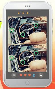 ภาพตัวอย่างแอพ Find the Differences 500 levels