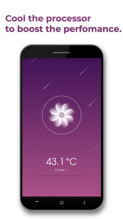 ภาพตัวอย่างแอป Rocket Cleaner Boost and Clean