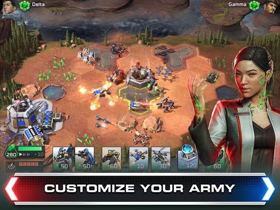 ภาพตัวอย่างแอป Command & Conquer: Rivals PVP
