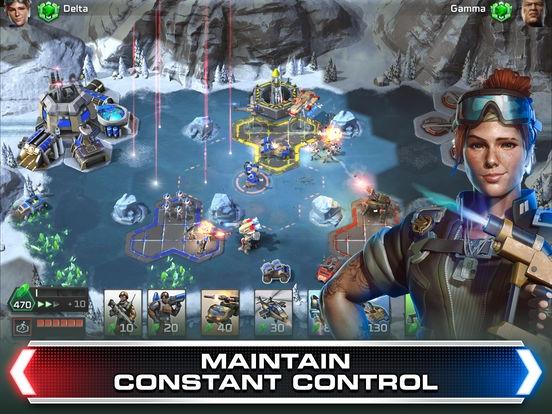 ภาพตัวอย่างแอพ Command & Conquer: Rivals PVP