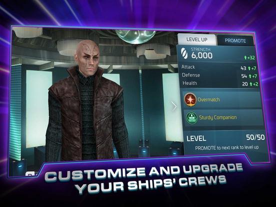 ภาพตัวอย่างแอป Star Trek Fleet Command