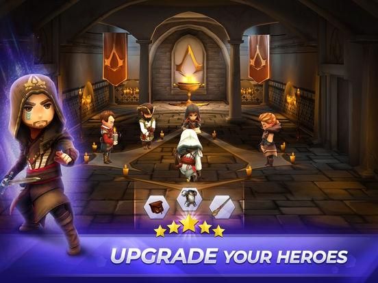 ภาพตัวอย่างแอพ Assassin\'s Creed Rebellion